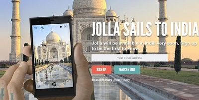 Jolla smartphone sails to arrive in India