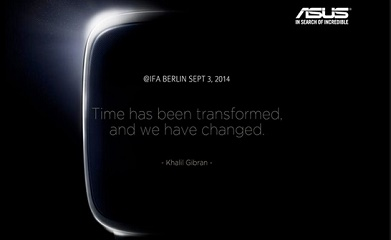 ASUS teases smartwatch for September 3rd