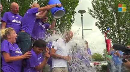 CEOs of Facebook, Microsoft are getting themselves iced and throwing the same challenges to other CEOs