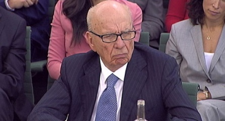 Rupert Murdoch on Google's security