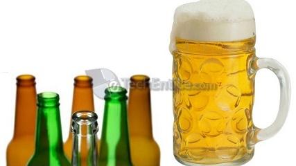 Beer not in plastic bottles
