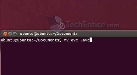Hide files and directories in ubuntu