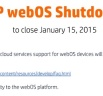 WebOS Support By HP To Be Shut Down In January