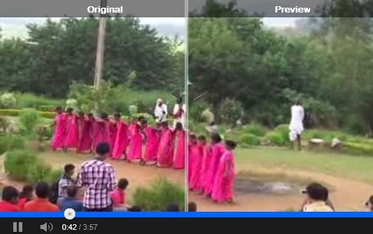 Auto enhancement of videos in Google Plus