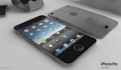 Conceptual image of a 4-inch iPhone