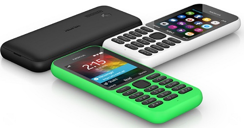 Microsoft's new $29 Nokia 215 which can retain charge upto one month