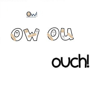ow/ ouch/ ahia!! Pain Swallower!!