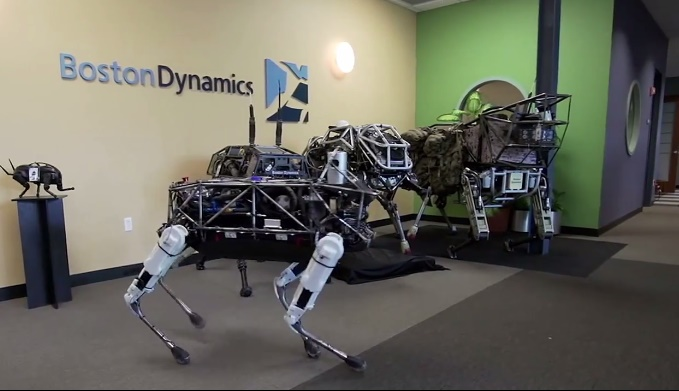 """Spot""!! Spot the Google's latest Robot Dog"