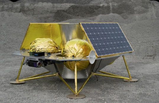 Google hosting Nascar on the Moon