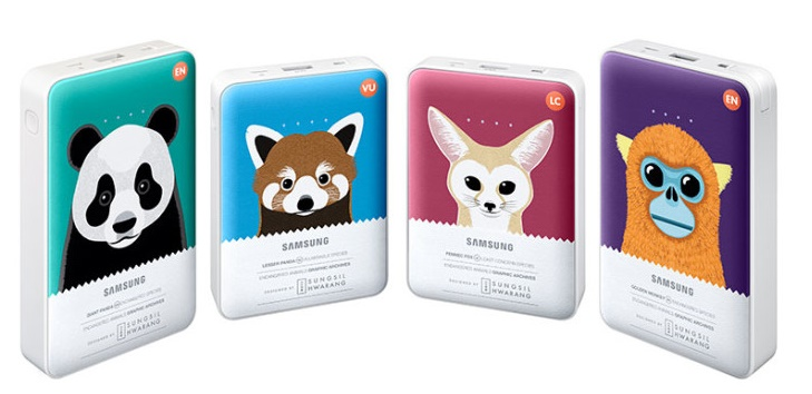 Samung launches Animal Edition Battery packs to raise awareness