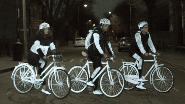 LifePaint: Volvo designs a life saving paint for bikers