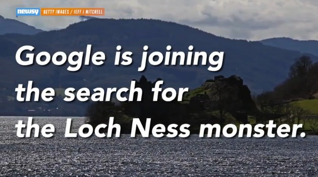 Google celebrates Loch Ness Monster