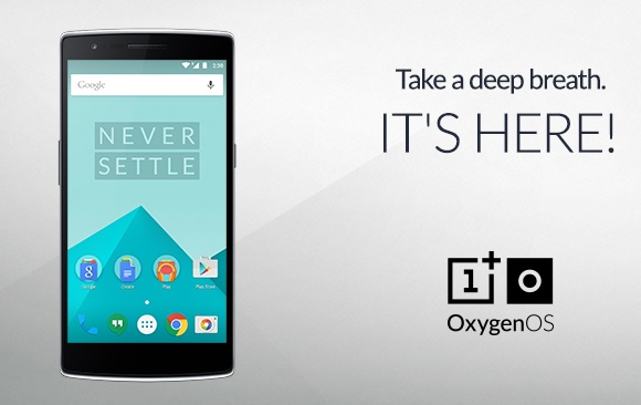 OxygenOS finally arrives for OnePlus One