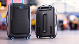Smart Travel luggage by Samsung and Samsonite