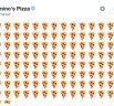 Dominos Tweet-to-order service: Order pizza with Pizza emojis