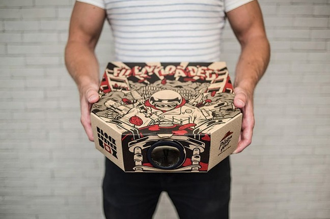 How this Pizza Hut box turned into a movie projector