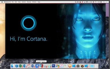 Cortana on OS X