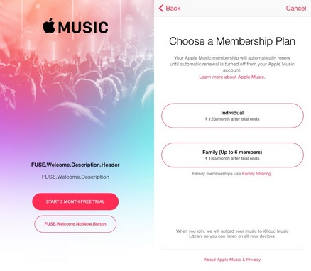 Apple Music in India: Free 3 months trial