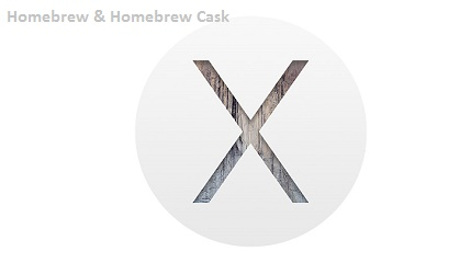 Homebrew and Homebrew Cask