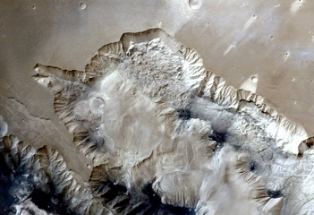 ISRO 's onboard Mars Orbiter Spacecraft shows spectacular images of Ophir Chasma canyon on Mars