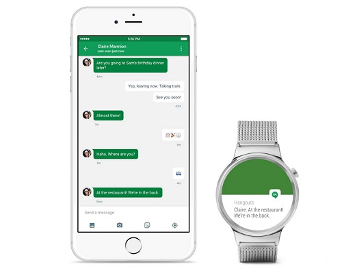 Google announces Android Wear now works with iPhones