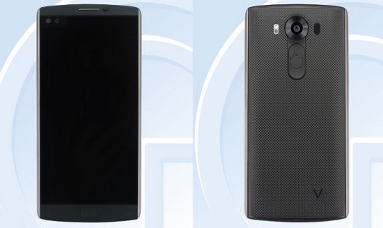 Image Leak shows LG to release a phone with a secondary ticker display