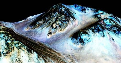 NASA confirms evidence of liquid water in Mars