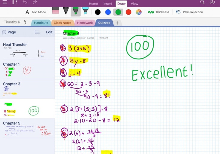 OneNote to support FiftyThree's Pencil & Paper on the iPad and many more