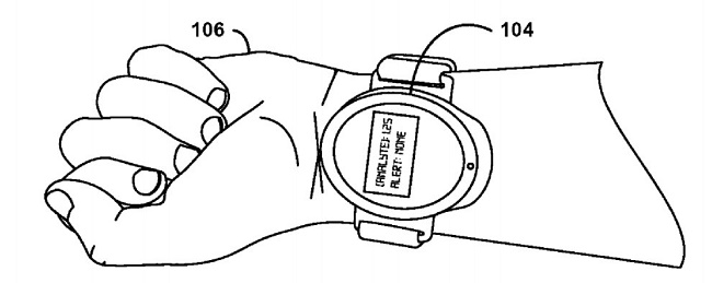 Google filed a patent for a watch that can draw blood without needle