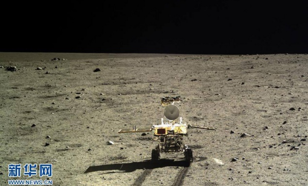 China's Yutu or Jade Rover alive! Beaming info about moon's rock formation