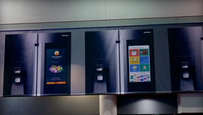 CES 2016: Samsung incorporating a massive touchscreen on its next smart fridge