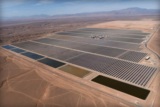 Morocco has turned on the first phase of World's largest solar plant