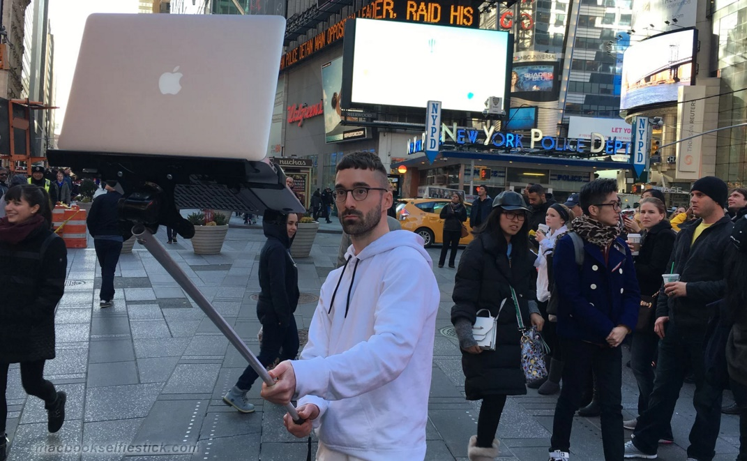 The Macbook Selfie stick art project is something that you must check