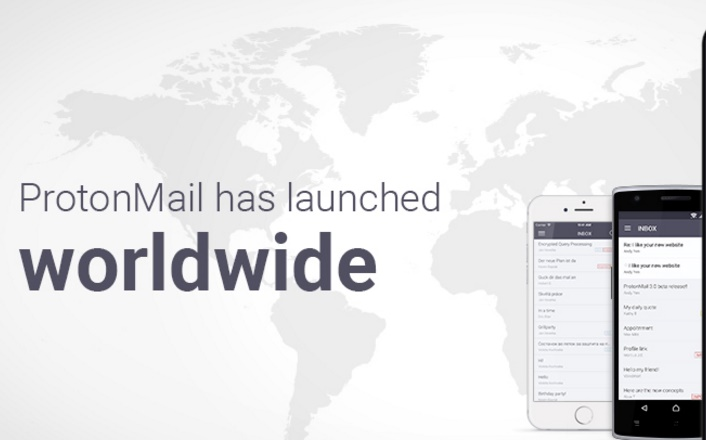 ProtonMail: The encrypted email service launches, along with iOS and Android Apps