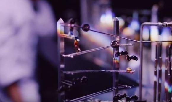 Sieko's smallest Rube Goldberg Machine Made of Watch Parts is Wow