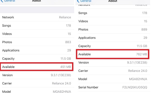 An amazing hack to increase your iPhone's available storage
