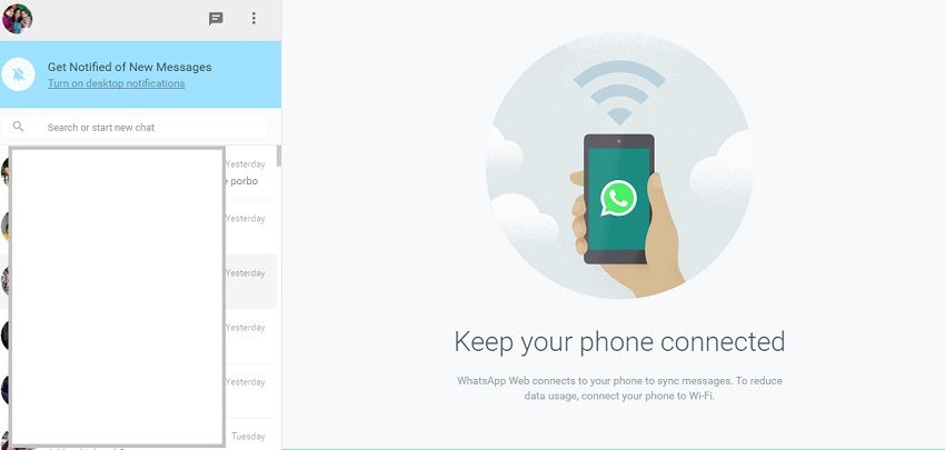 How to use WhatsApp Web for Android?