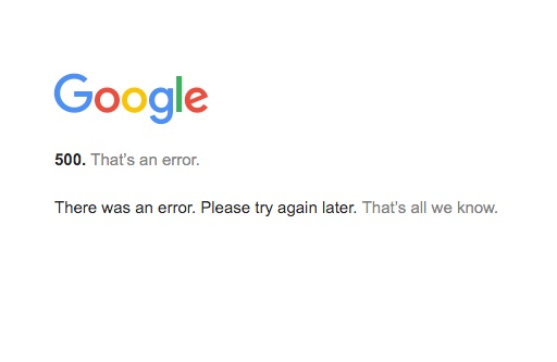Technical glitch in Google took a toll on third-party services