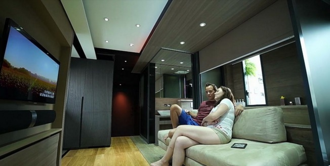 The Smart Transformable Microflat will leave you flabbergasted
