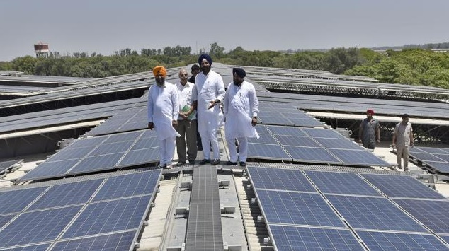 World's largest single rooftop solar plant launched in Punjab