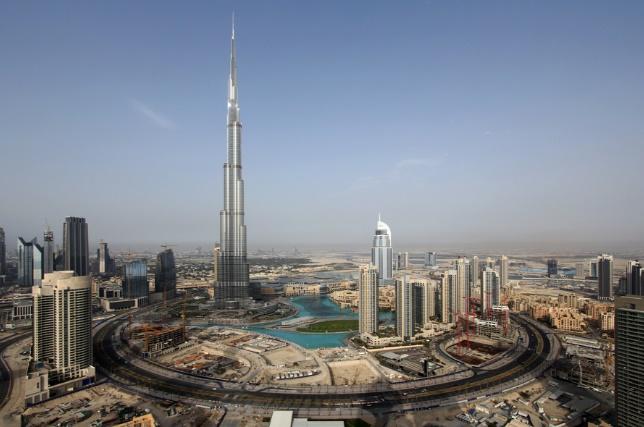 United Arab Emirates rumored to build fake mountain to increase rainfall