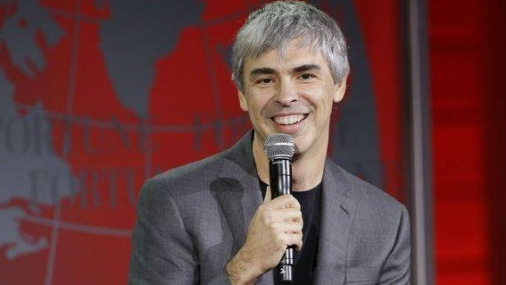 Larry Page adumbrating plans to launch Flying Cars