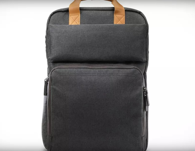 This HP backpack can seriously recharge your laptop!