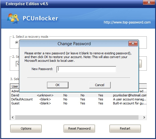 crack windows 10 password ophcrack