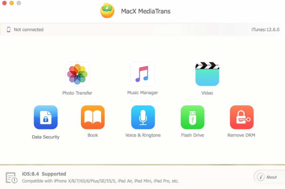 MacX MediaTrans - Backup Your iPhone Data for iOS 12 Update