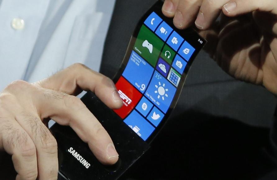 foldable handset