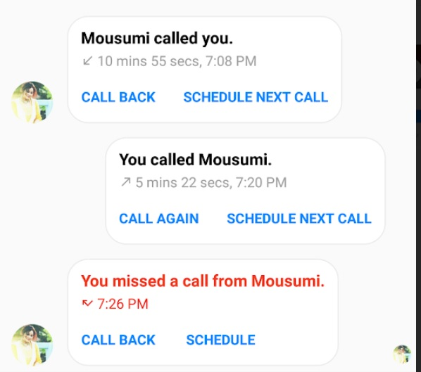 schedule fb voice call