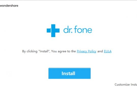 install dr fone unlock