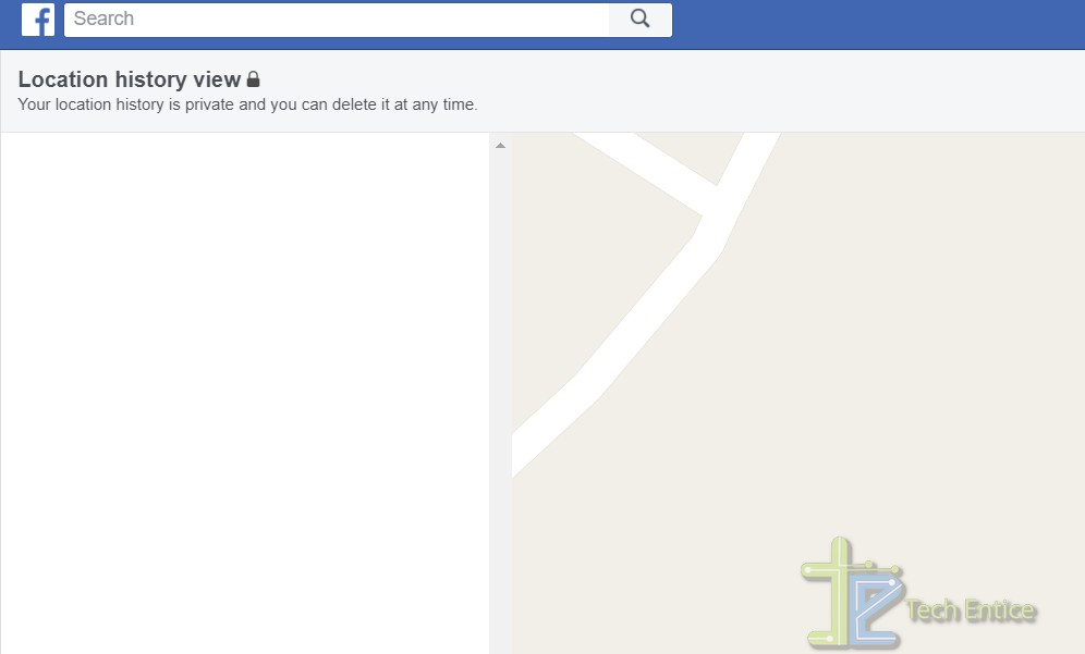 facebook location history