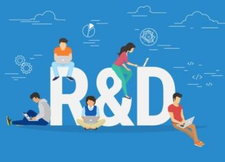 r and D